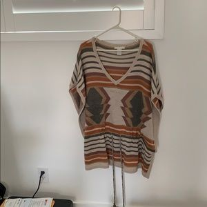Tribal style sweater